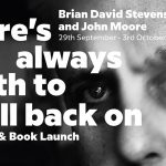 Silverhill Press book launch and exhibition - Theres always death to fall back on