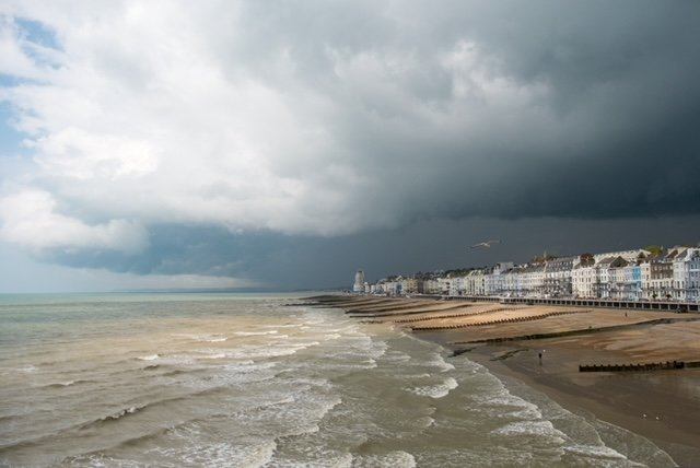 Storm Approaching by Patricia Webb